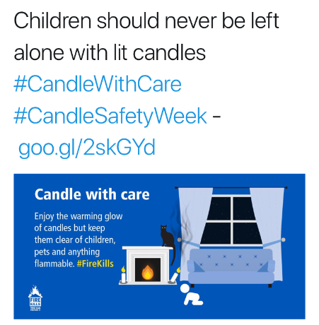 Candle Safety Week