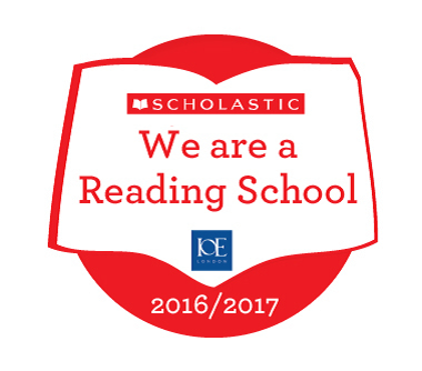 We Are A Reading School.